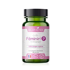 Féminin P Bio complément alimentaire biophénix.
