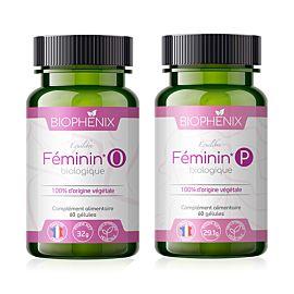 Pack Féminin Duo Bio compléments alimentaires biophénix.