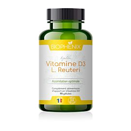 Vitamine D3 Complément Alimentaire Biophénix.