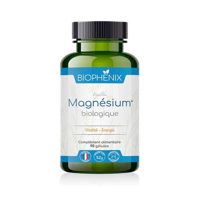 Magnésium végétal parfaitement assimilable 100% naturel et bio