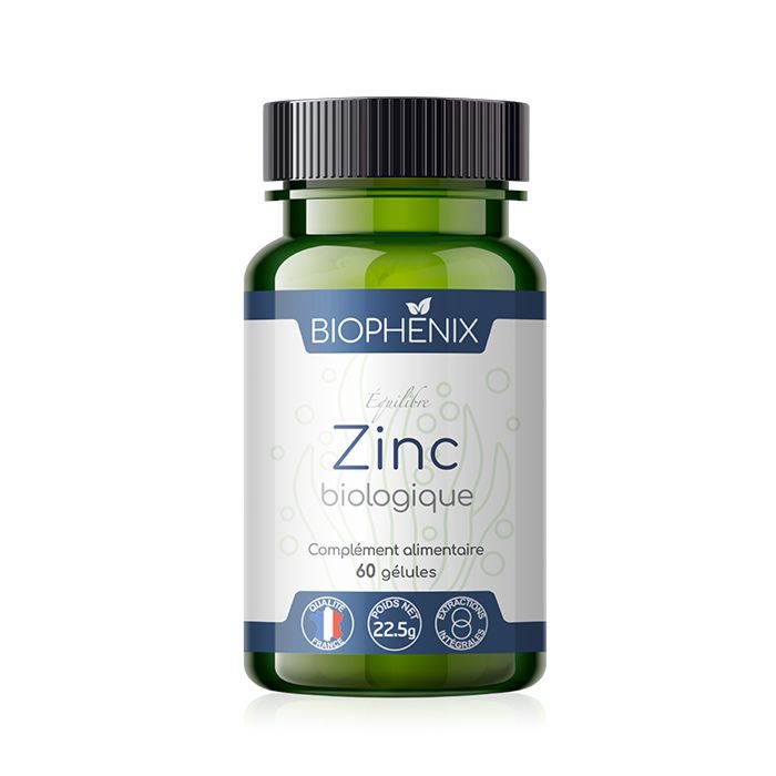 Zinc naturel, végétal et 100% biologique